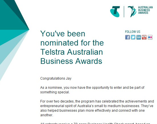 Ausnviro business awards